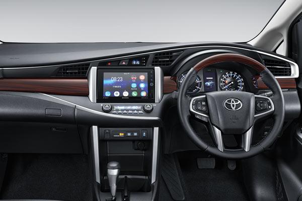 Gambar bagian interior mobil Toyota Kijang Innova