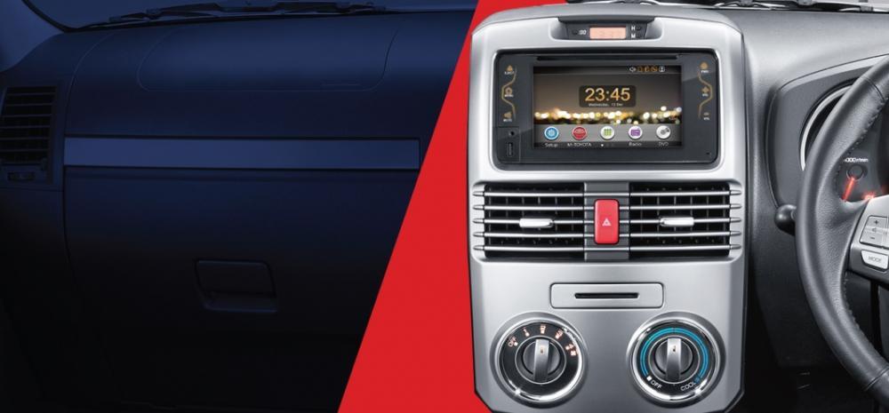 Gambar bagian interior mobil Toyota Rush