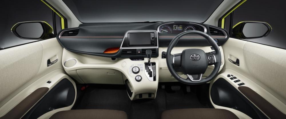 Gambar bagian interior mobil Toyota Sienta