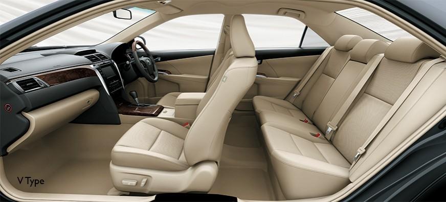 Bagian kursi mobil Toyota Camry