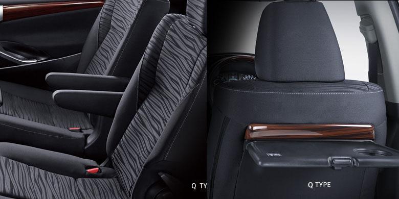 Gambar bagian kursi mobil Toyota Kijang Innova