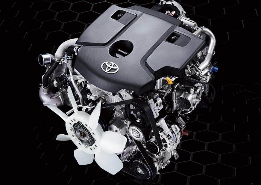 Gambar bagian mesin mobil Toyota Fortuner