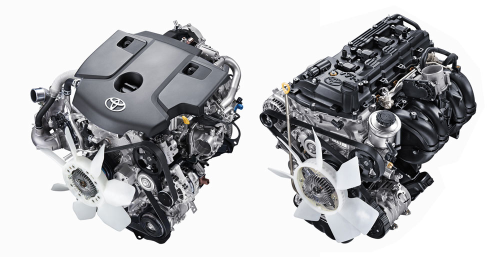 Gambar  bagian mesin mobil Toyota Kijang Innova