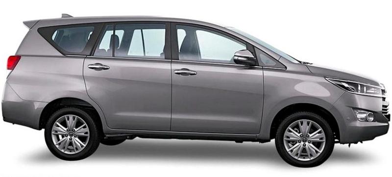 Gambar bagian samping mobil Toyota Kijang Innova