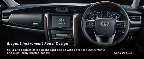 Bagian setir mobil Toyota Fortuner