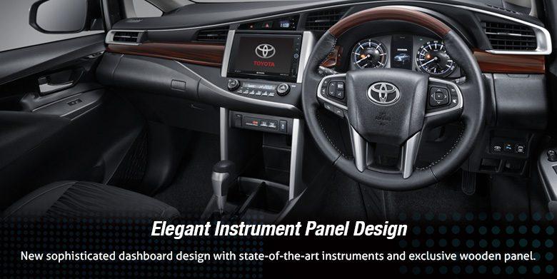 Gambar bagian setir mobil Toyota Kijang Innova