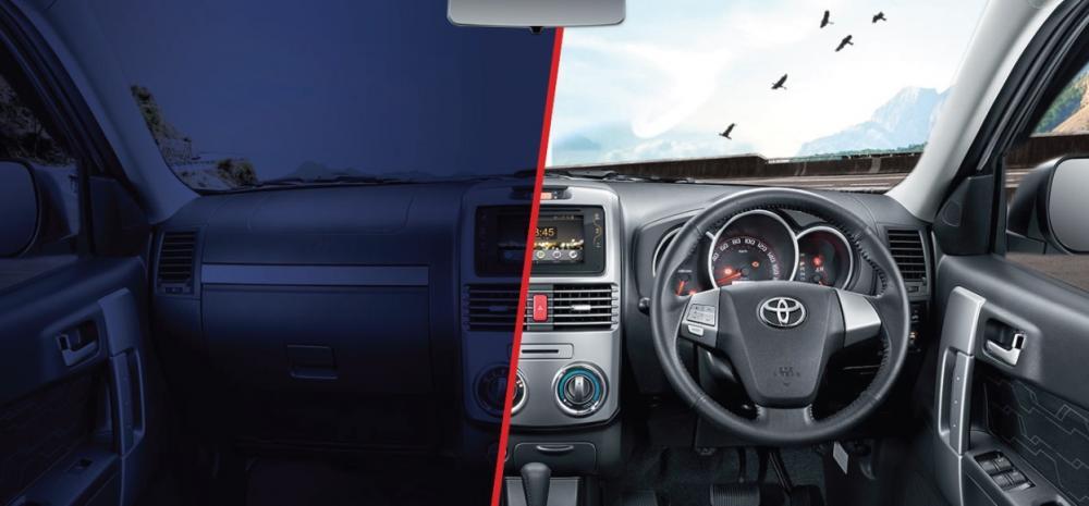 Gambar bagian setir mobil Toyota Rush