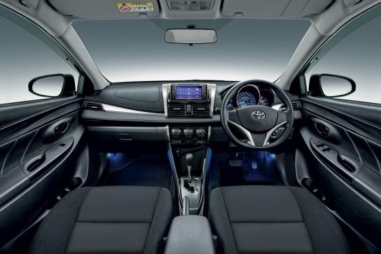 Gambar bagian dashboard mobil Toyota Vios