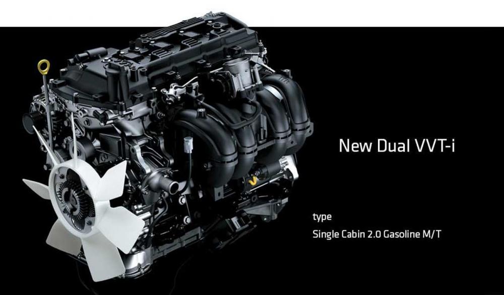 Gambar bagian mesin mobil Toyota Hilux