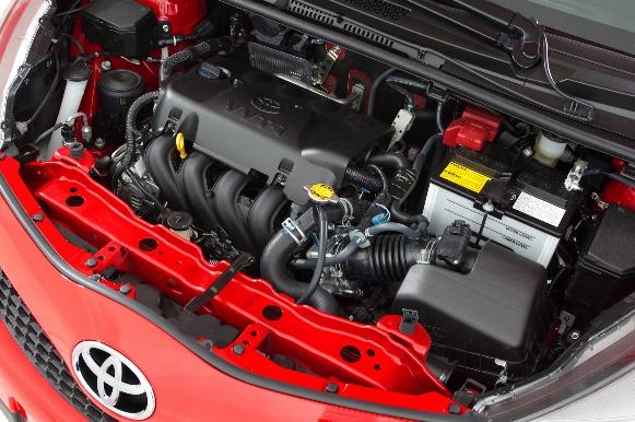 Gambar bagian mesin mobil Toyota Yaris