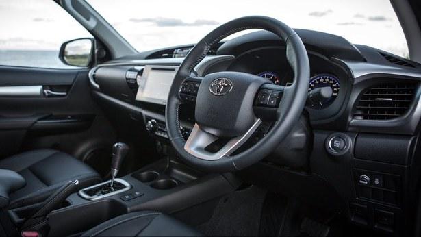 Gambar bagian setir mobil Toyota Hilux