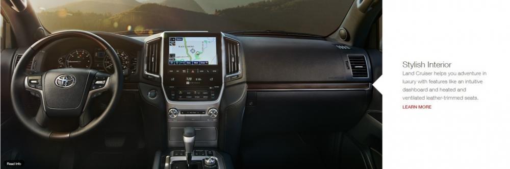 Gambar bagian setir mobil Toyota Land Cruiser