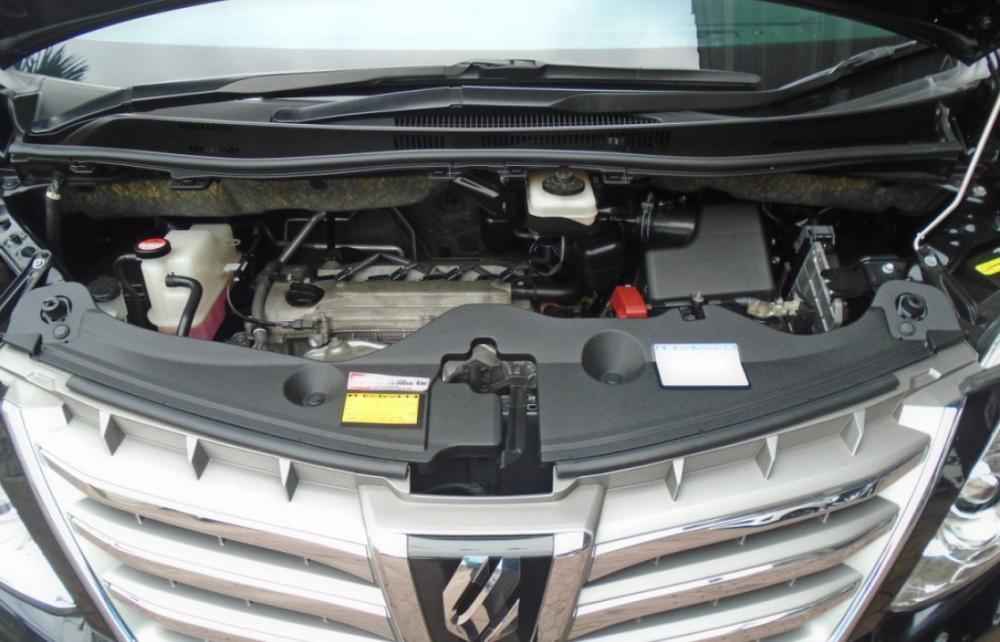 Mesin Toyota Alphard 2.5 G dan 2.5 X menggunakan racikan yang sama yakni 2AR-FE berdaya 180 PS