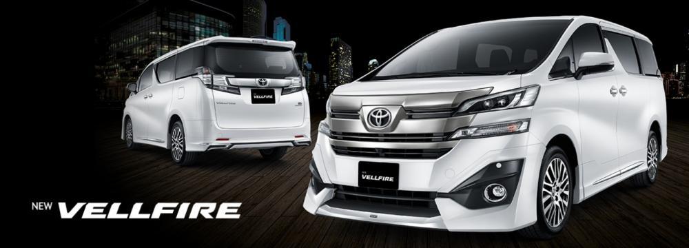 Tampilan Toyota Vellfire 2018 mengusung tampilan yang lebih modern dan mewah