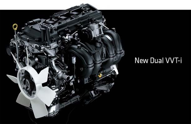 Mesin Toyota New Vellfire 2018 menggunakan konfigurasi Dual VVT-I
