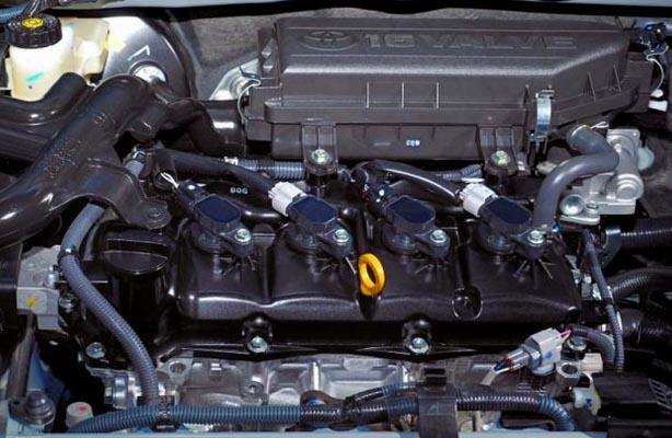 Mesin Toyota Etios Valco 2015 menggunakan kapasitas 2.0 Liter berkode 3NR-FE