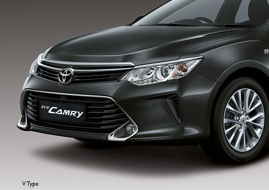 New Toyota Camry Warna Hitam dengan desain sangat baik