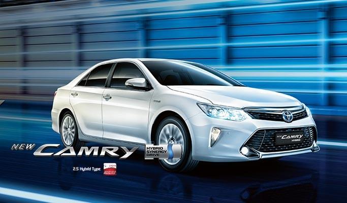 Mobil Toyota Camry Dengan Mesin Hybrid