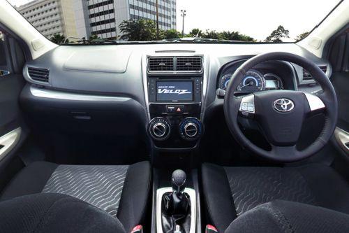Gambar bagian Dashboard Terlihat Mewah pada mobil Toyota Avanza Veloz