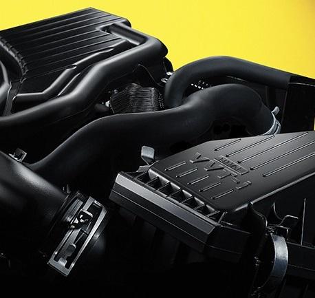 Gambar bagian Mesin Bertenaga Dari Toyota Agya