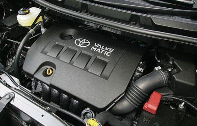 Gambar bagian mesin mobil Toyota Voxy dengan tenaga besar dan mesin kerja dengan lancar