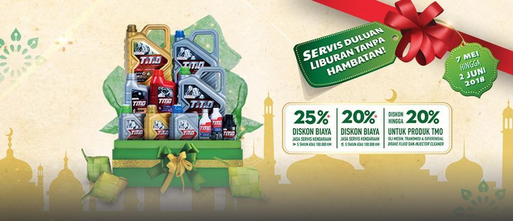 Promo Service Toyota pada bulan Ramahdan 2018