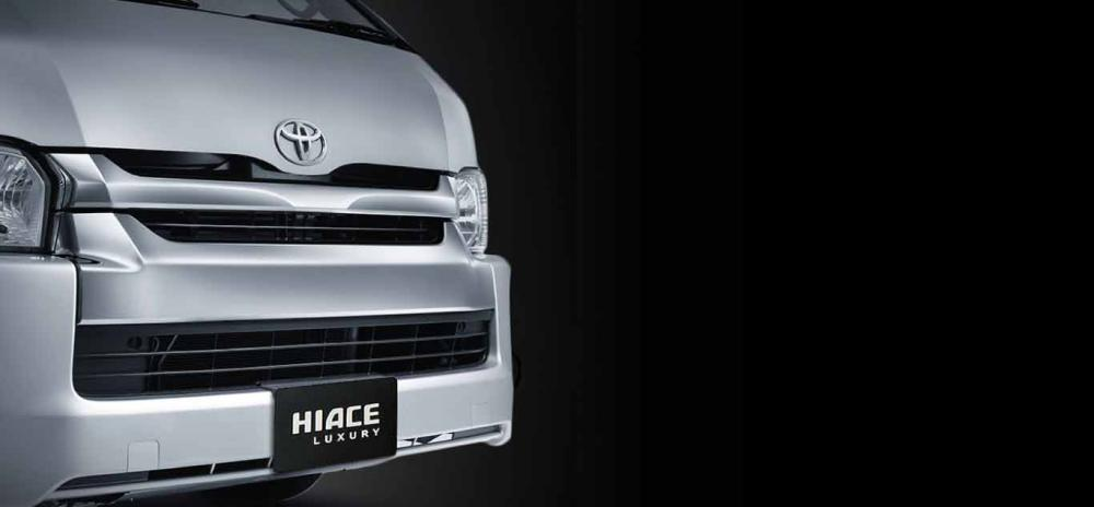 Bumper Varian Luxury mobil Toyota Hiace 2018