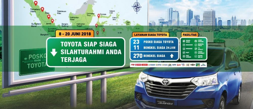 Program Toyota Siaga Mudik Lebaran 2018 di pasar Indonesia