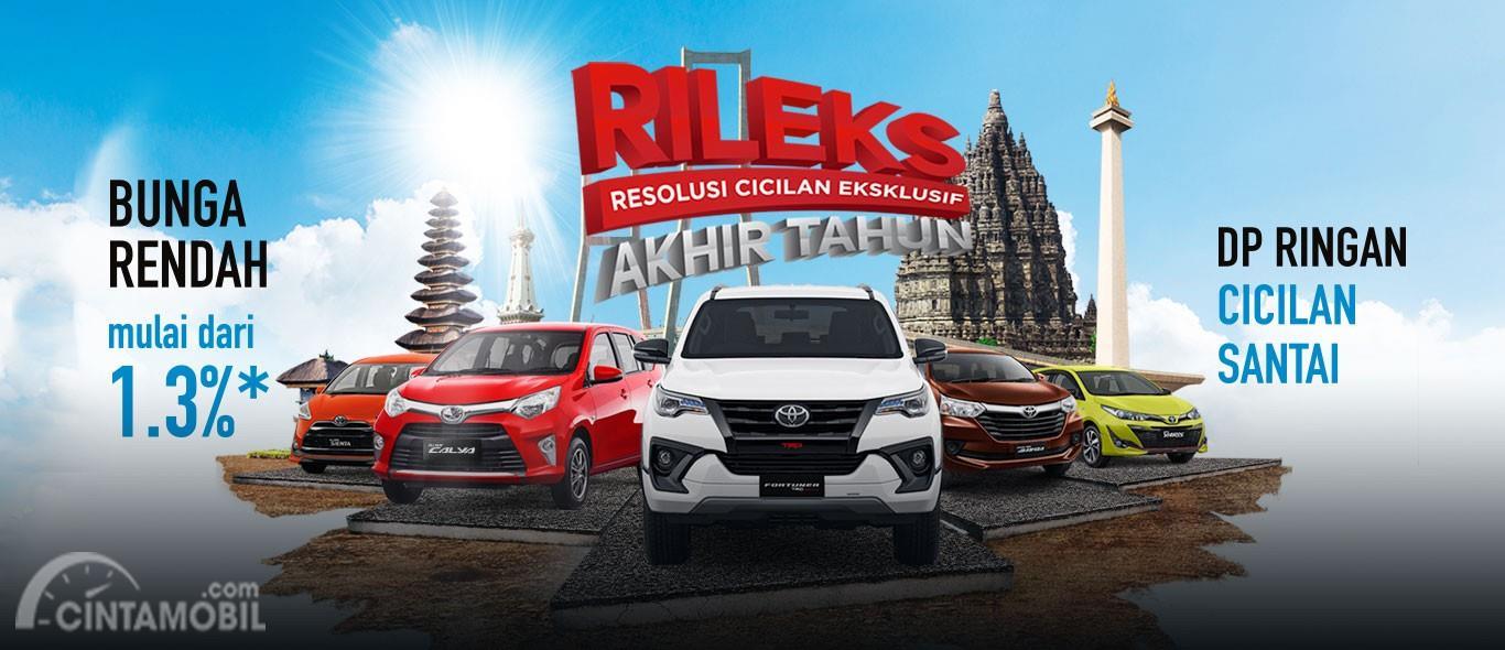 Promo terbaru Toyota Calya Desember 2018 tawarkan beberapa hal menarik