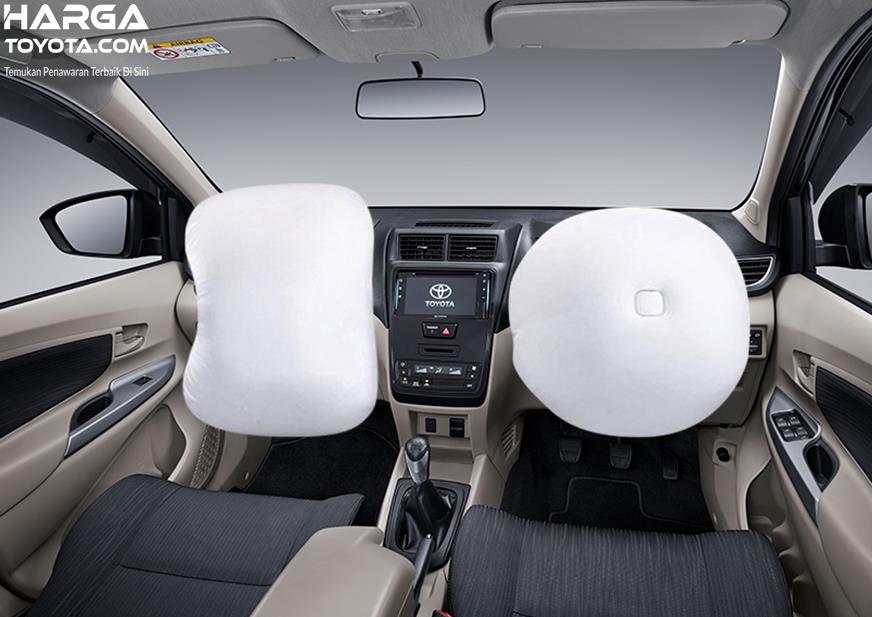Fitur Toyota Avanza 2019 terbilang cukup lengkap dengan Dual SRS Airbag hingga Side Impact Beam