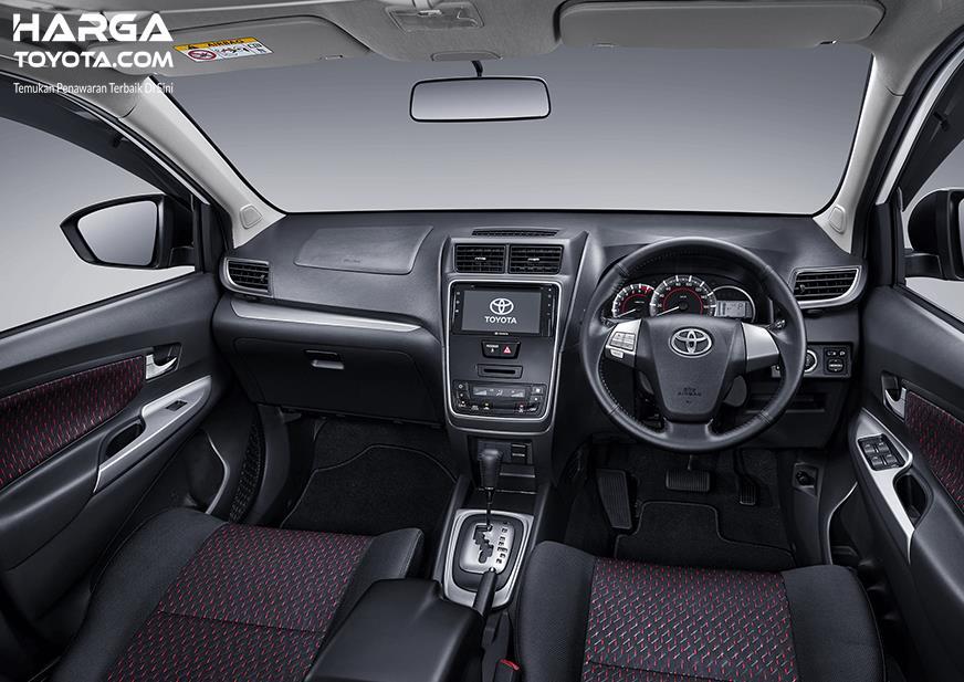 Interior Toyota Avanza Veloz 2019 tampil cukup memukau dengan atmosfer yang nyaman serta elegan