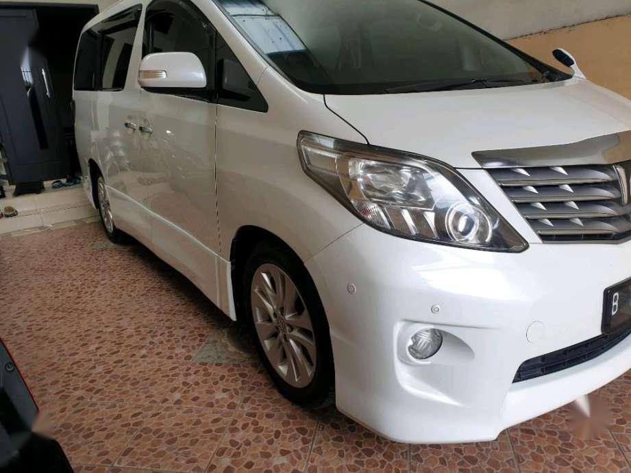 Jual Toyota Alphard 2010 harga baik 476026