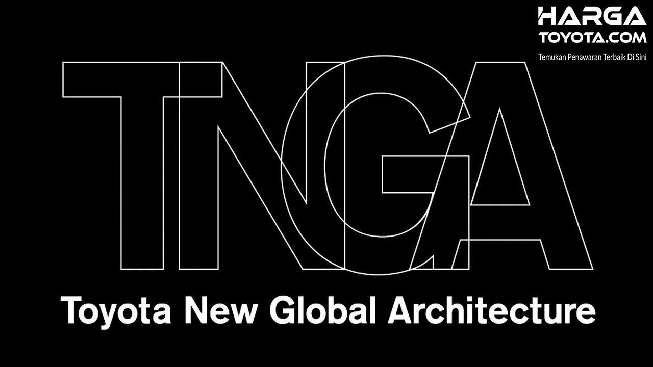 Tampak Logo TNGA dengan warna putih dan hitam