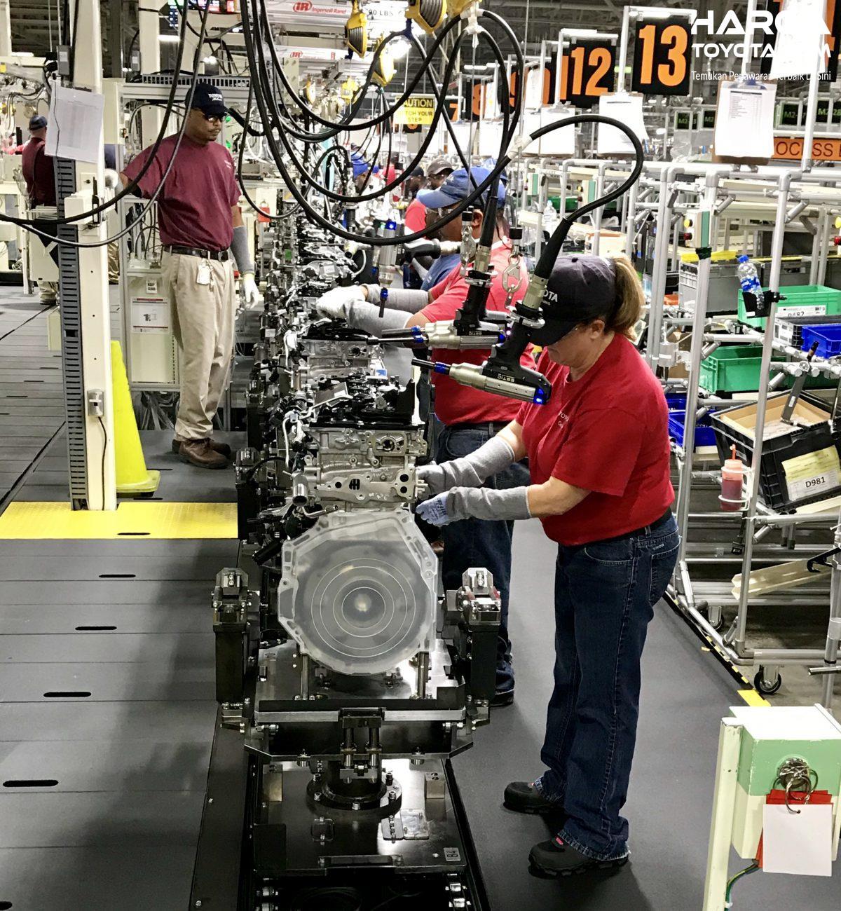 Tampak Penerapan Konsep TNGA di Pabrik Perakitan Toyota
