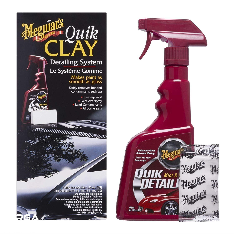 Sudah banyak produsen produk perawatan mobil menjual quik clay