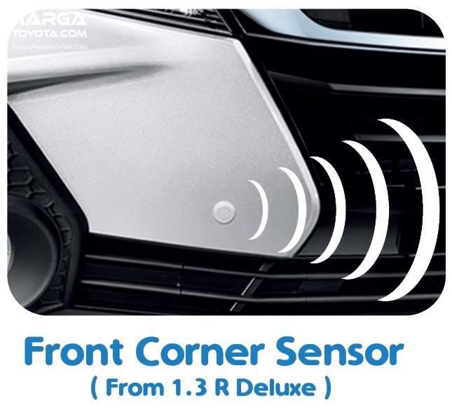 Fitur Daihatsu Xenia 2019 terbilang lebih lengkap dalam hal sensor parkir di bagian depan