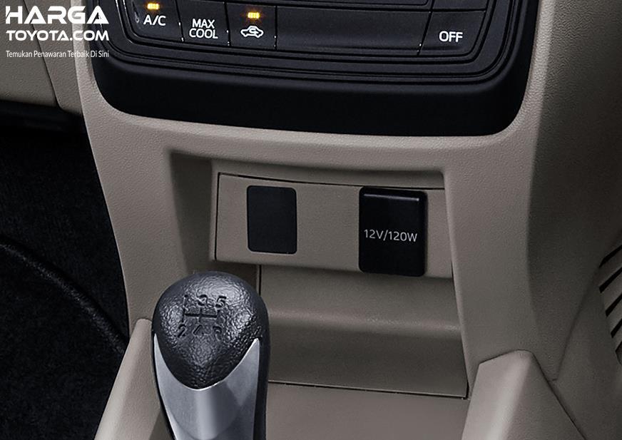 Fitur Toyota Avanza 2019 lebih menarik dengan Socket Charger di setiap deret kursi