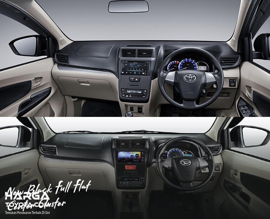 Perbandingan Interior Toyota Avanza 2019 dan Daihatsu Xenia 2019 terletak pada masalah fitur