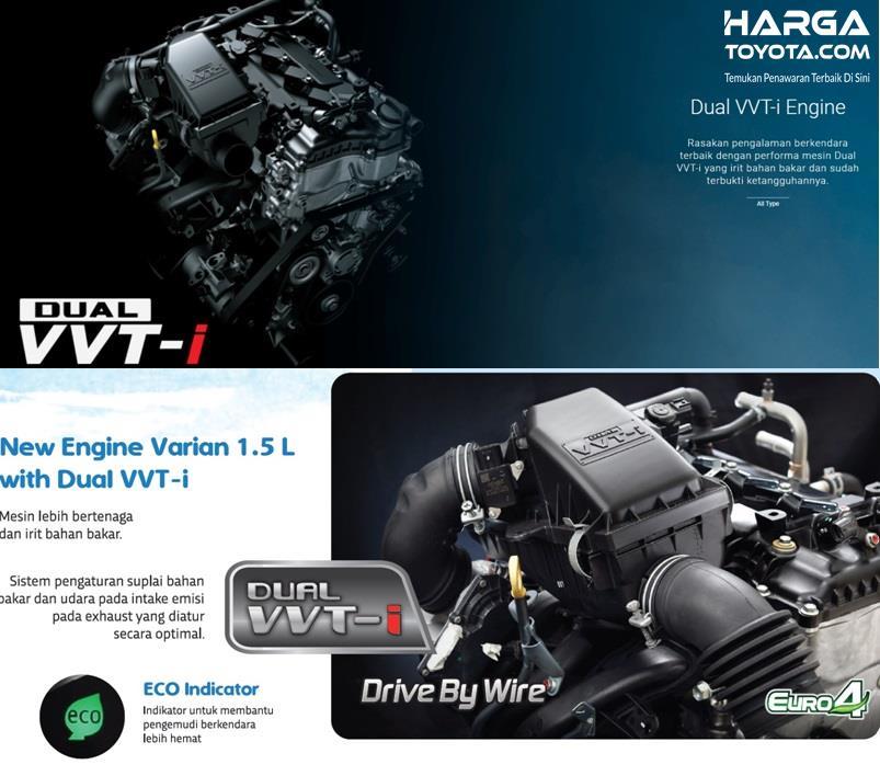 Perbandingan mesin Toyota Avanza 2019 dan Daihatsu Xenia 2019, keduanya menggunakan kapasitas sama