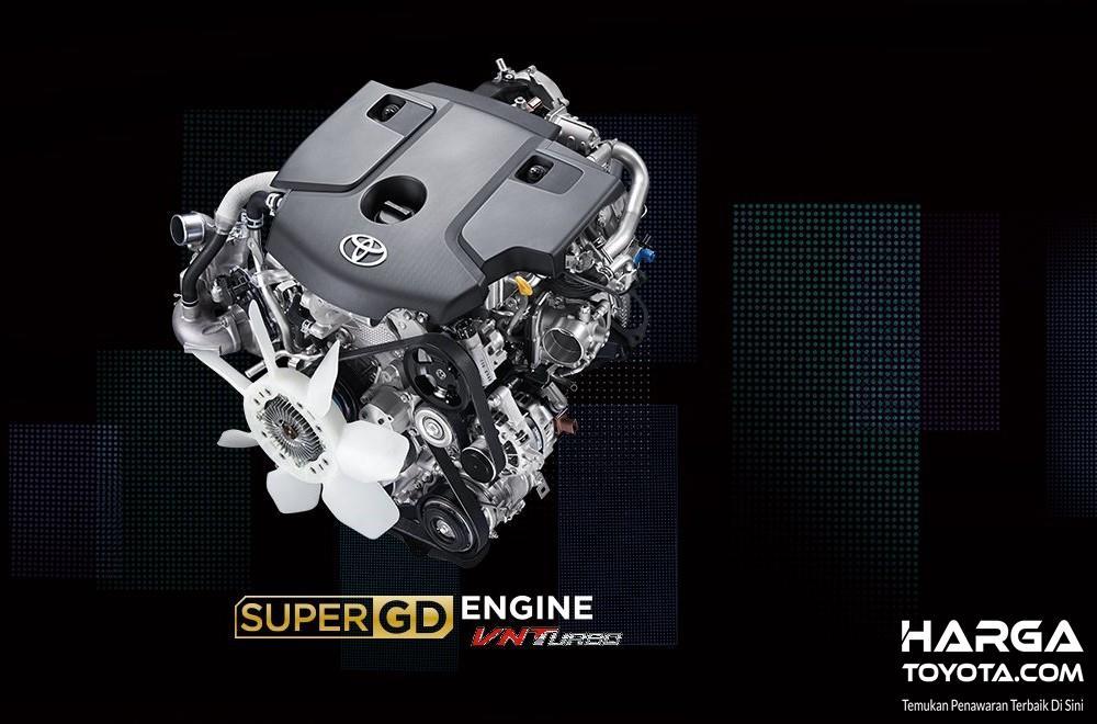 Foto mesin diesel Toyota Kijang Innova