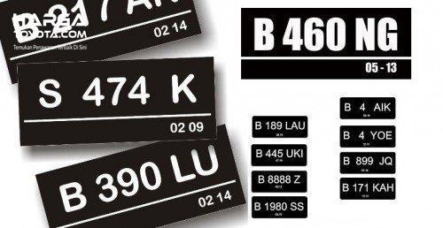 Plat Nomor Mobil Cantik umumnya digunakan untuk simbol kemewahan dan identitas pemiliknya