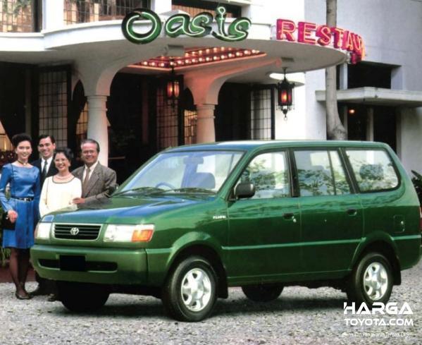 Gambar menunjukkan Toyota Kijang LGX 1997