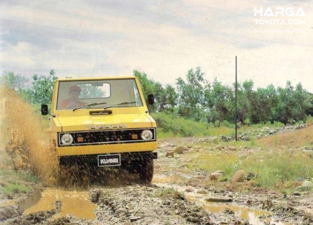 Gambar Menunjukkan Toyota Kijang Pick Up