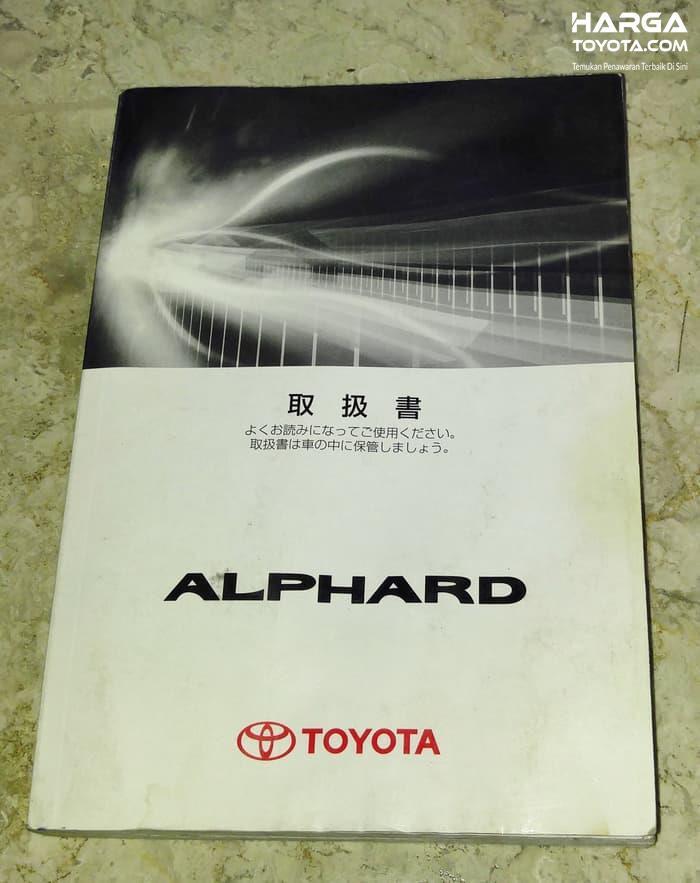 Buku Manual Toyota tergolong sangat penting untuk melihat oli pelumas apa yang cocok untuk mobil Anda