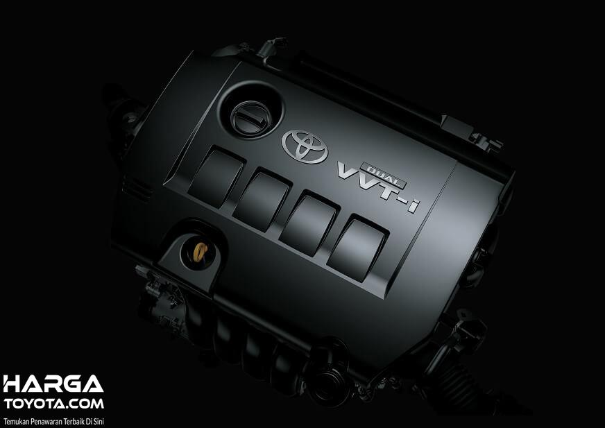 Foto menunjukkan Mesin Toyota C-HR Hybrid