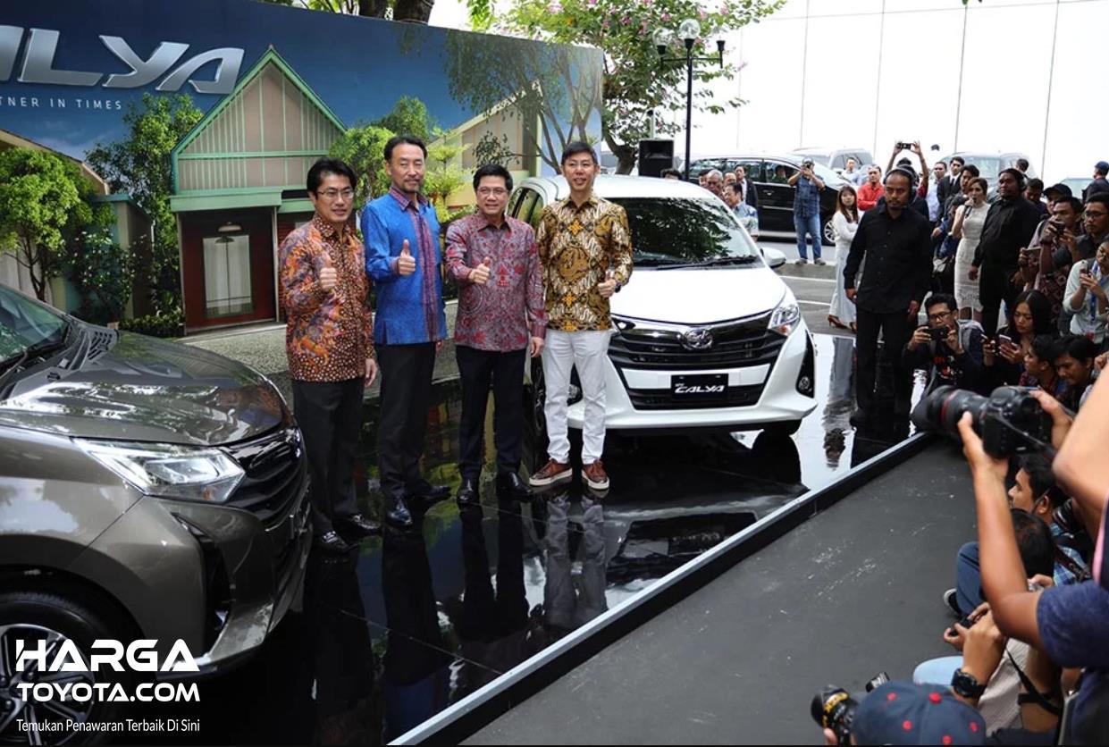 Foto peluncuran New Toyota Calya 2019
