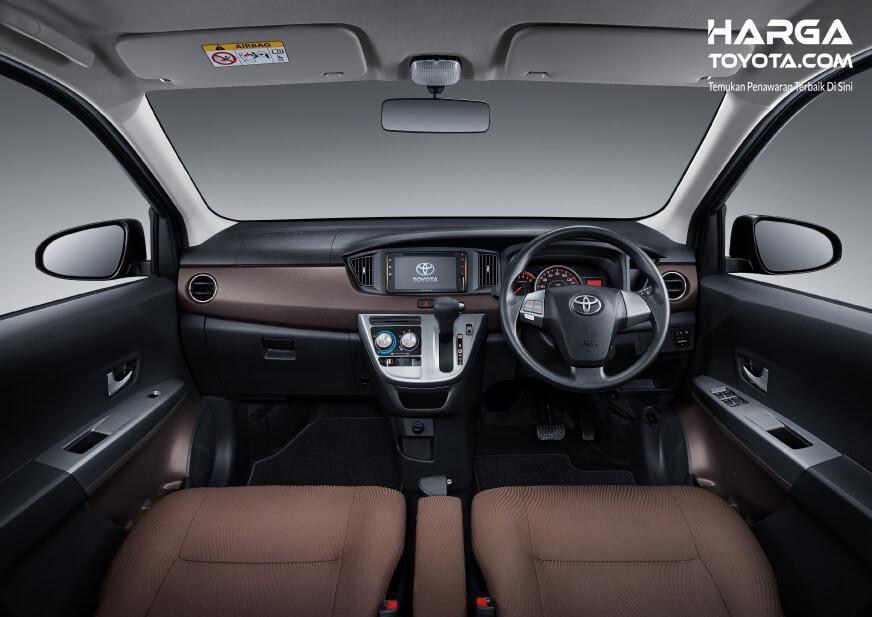 Foto interior New Toyota Calya G AT 2019