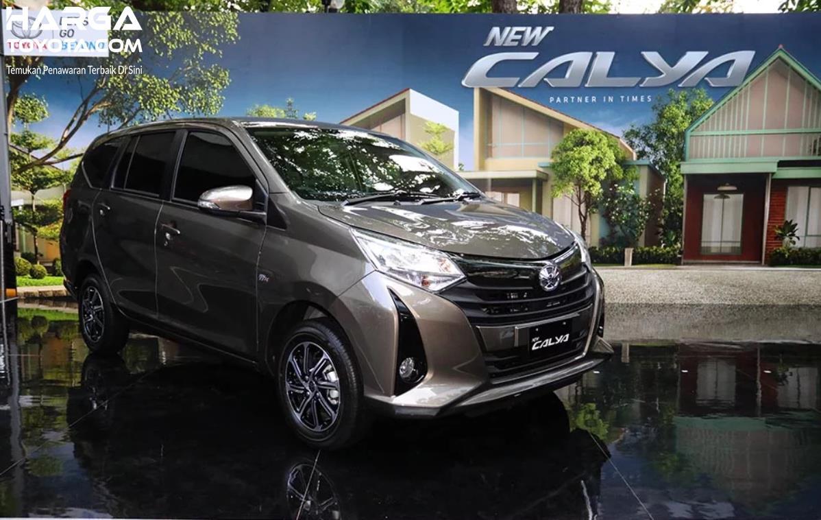 Foto New Toyota Calya G AT 2019 saat diluncurkan