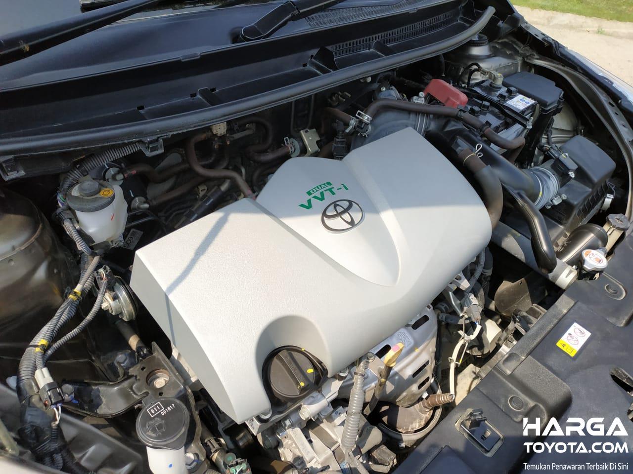 Gambar menunjukkan Mesin 2NR-FE All New Toyota Vios