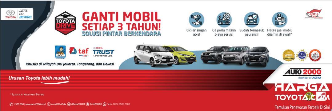 program Toyota Drive dari Auto2000 dan Toyota